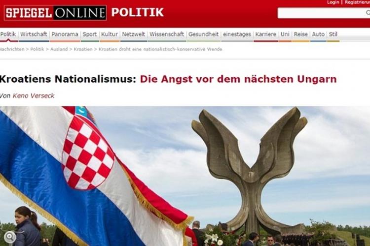Špigel: nacionalistički ton u Hrvatskoj sve je glasniji