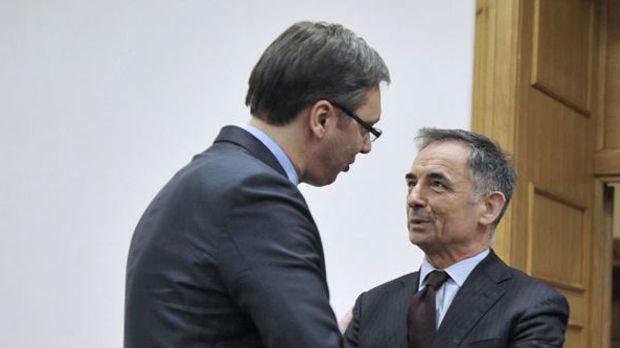 Vučić primio Pupovca