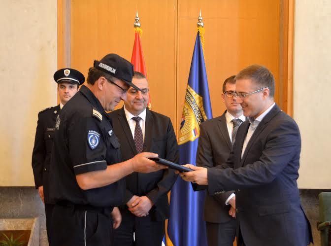 Nagrađen policajac – spasilac