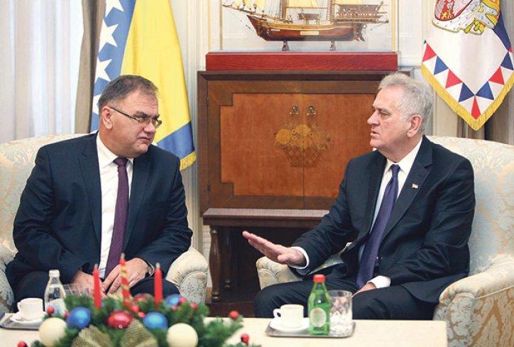Ivanić kod predsednika Nikolića