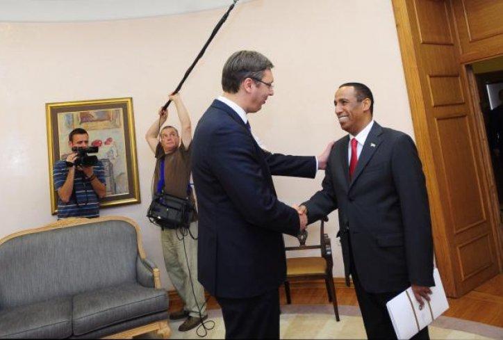 Vlada: Vučić razgovarao ambasadorom UAE Džumom Rašidom Sejf Zajedom al Daherijem