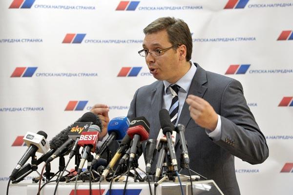 Izbori 2016: Konferencija za medije Aleksandra Vučića