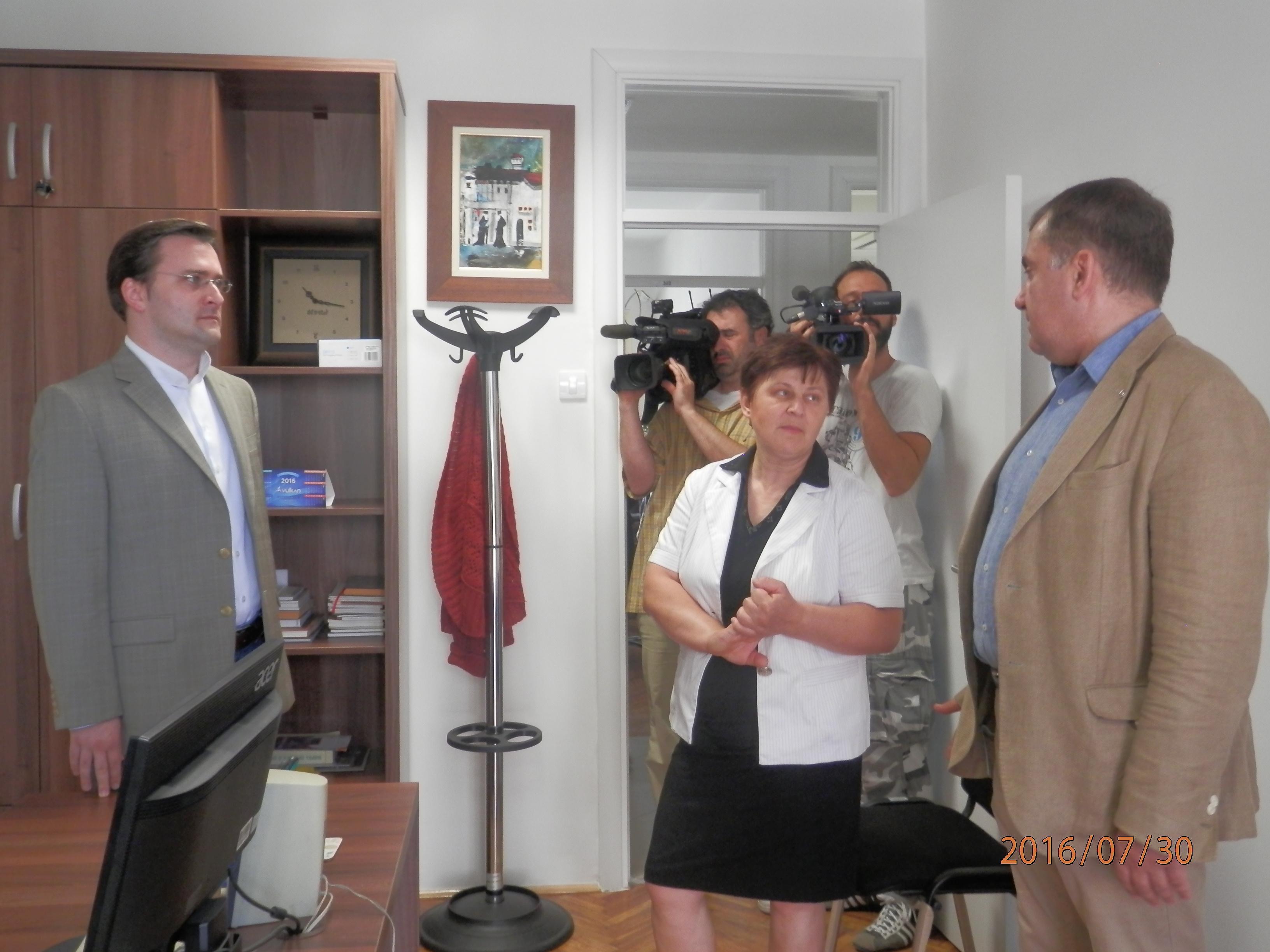 Ministar Selaković obišao Apelacioni prekršajni sud