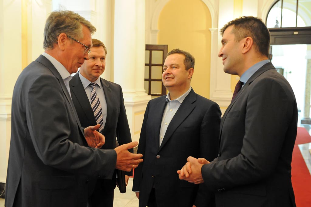 Ministri Dačić i Đorđević razgovarali sa ruskim ambasadorom Čepurinom