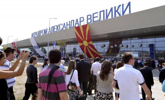 Skopje: pokušao silom da uđe u avion