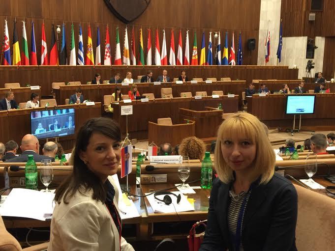 Bratislava: članovi Odbora za evropske integracije Skupštine na sastanku predsedavajućih KOSAK