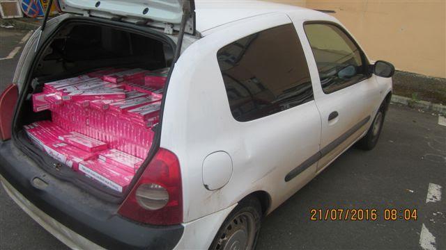 Kruševac: policija zaplenila 6.500 paklica cigareta
