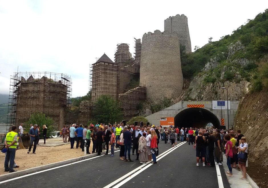 Svečanost u Golupcu: otvoren tunel i obilaznica oko tvrđave
