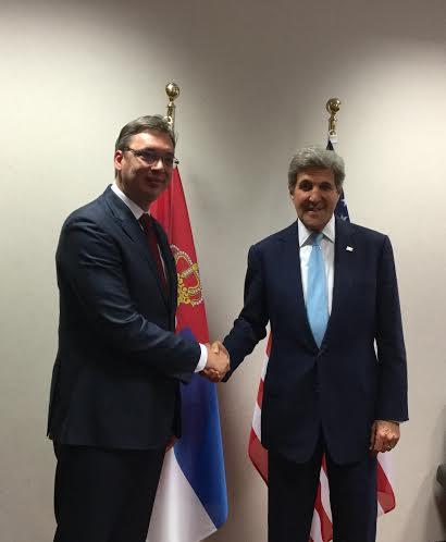 Brisel: Vučić se sastao sa Kerijem