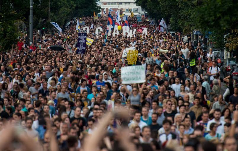 """U sredu Protest """"Beograd NIJE MALI!"""" ispred Skupštine grada"""