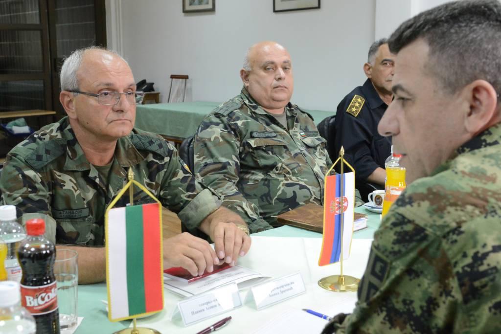 Gradina: sastanak visokih oficira Srbije u Bugarske