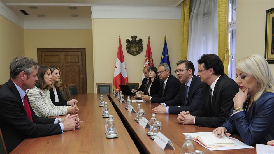 Vučić razgovarao sa Martinom Larkin