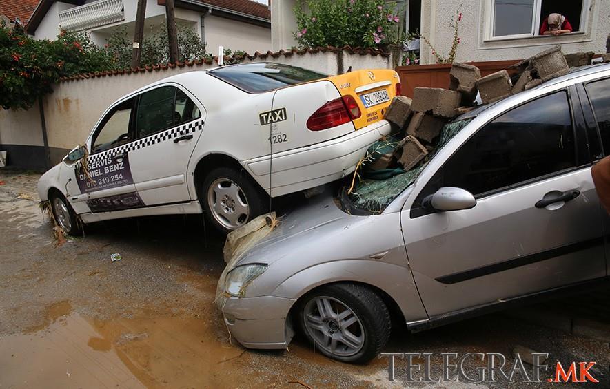 Grad Skopje oštećenima od nevremena daje po 3.000 evra