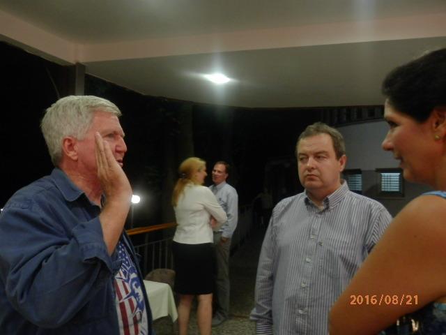 Olimpijsko košarkaško finale sa ministrom Dačićem i američkim ambasadorom Skotom