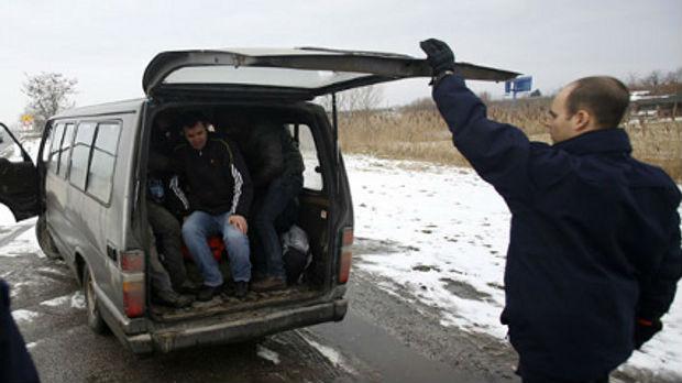 Subotica: uhapšeni šverceri migranata