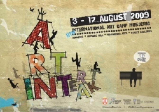 Trinesti Međunarodni umetnički kamp u Kojseriću