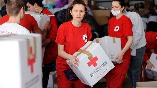 Crveni krst Srbije pomaže Makedoniji