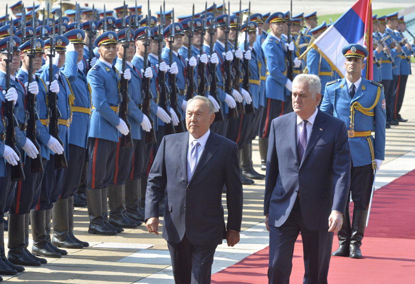 Predsednik Kazahstana Nursultan Nazarbajev gost Srbije