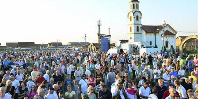 Večeras u Busijama održan veličanstveni Dan sećanja na progon Srba iz Krajine