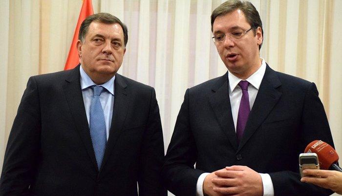 Sutra rukovodstvo RS kod Nikolića i Vučića