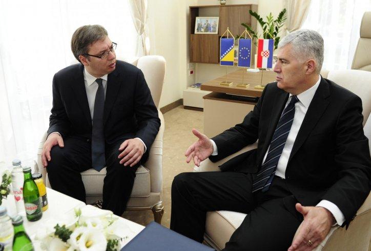 Sastanak Vučića sa Draganom Čovićem