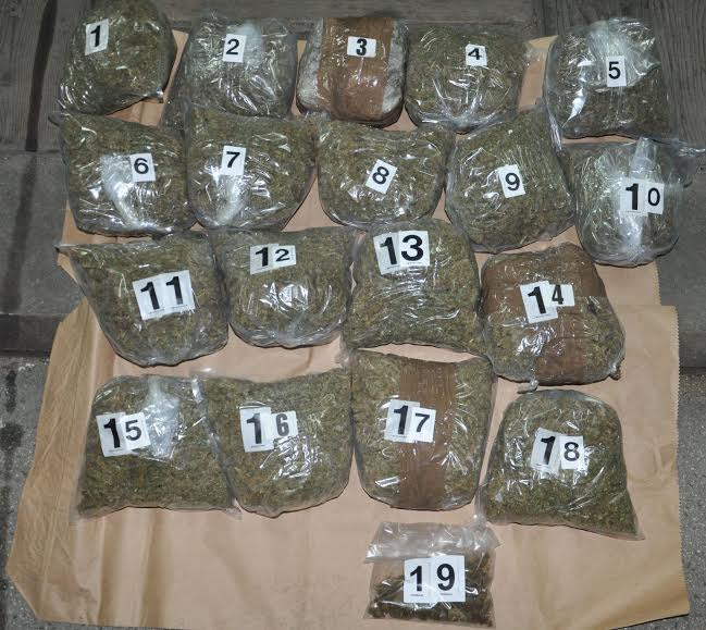 Progorelica: policija zaplenila 8,5 kilograma droge