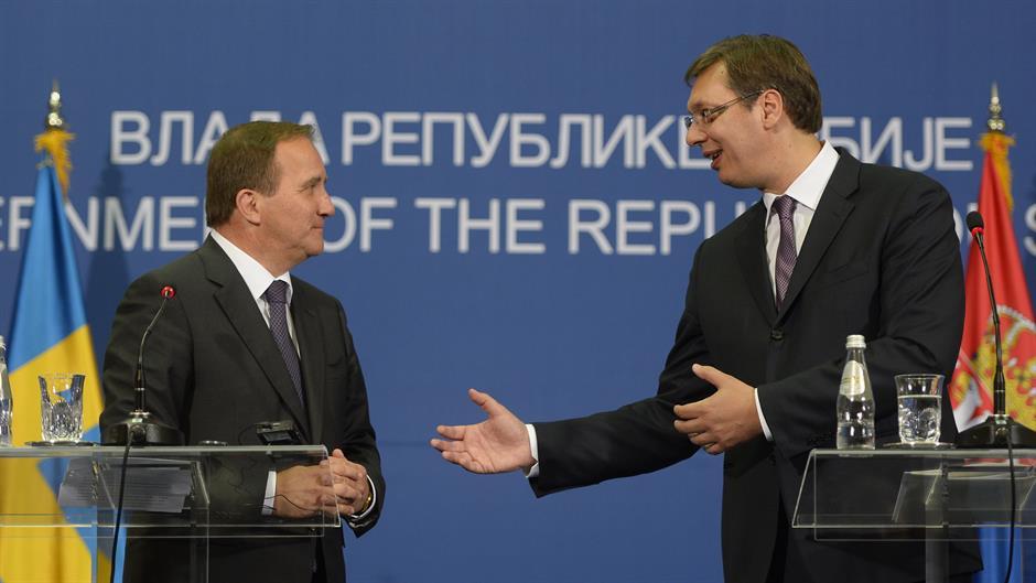 Švedski premijer Stefan Leven gost Aleksandra Vučića