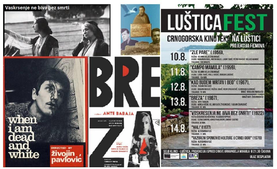 "Crna Gora: ""Ljuštica fest"" – revija YU filmova iz prošlog veka"