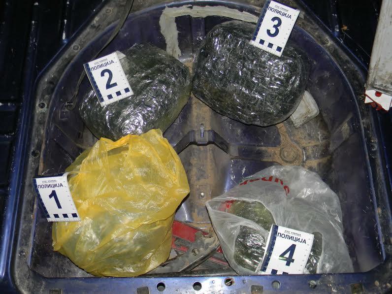 Policija u Nišu i Beogradu zaplenila 4 kilograma marihuane