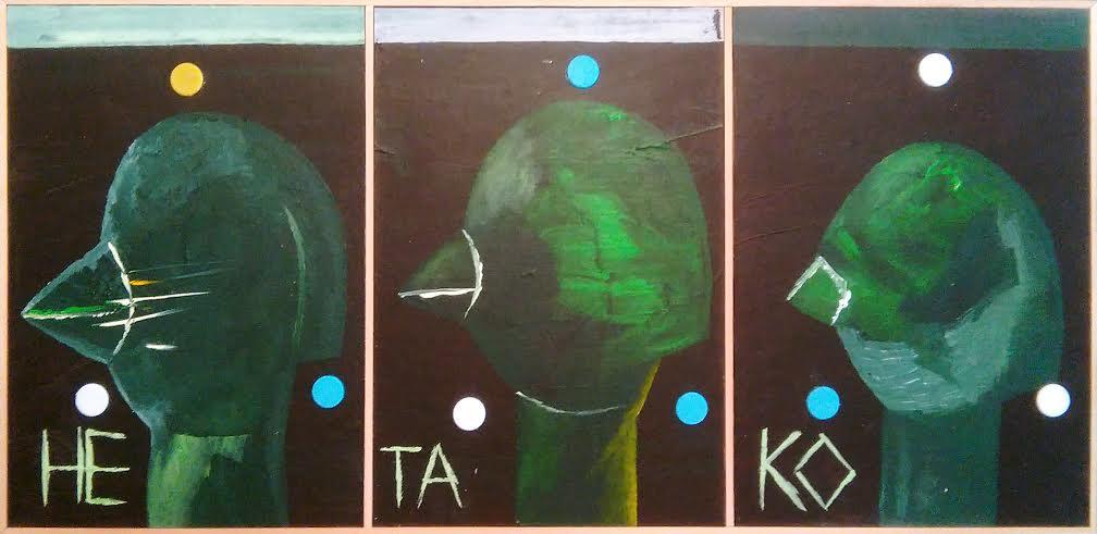 Izložba Ne ta ko, slikara Andreja Bunuševca u Uličnoj galeriji