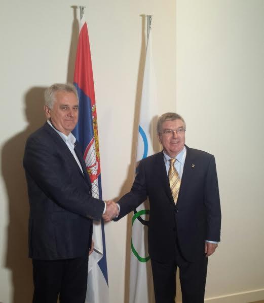 Rio2016: Tomislav Nikolić razgovarao sa Tomasom Bahom
