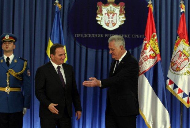 Tomislav Nikolić primio premijera Švedske Levena