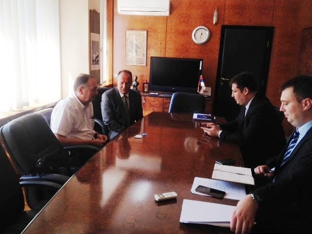 Ministar Šarčević razgovarao sa rektorom UB Bumbaširevićem