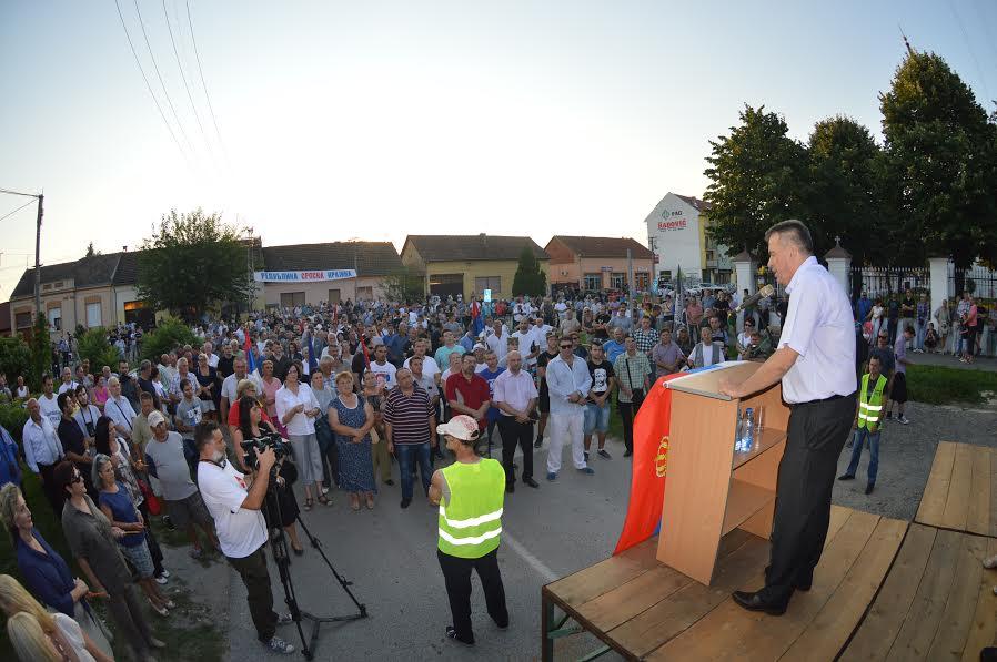 Bačka Palanka: Srpski radikali se ne odriču Republike Srpske Krajine!