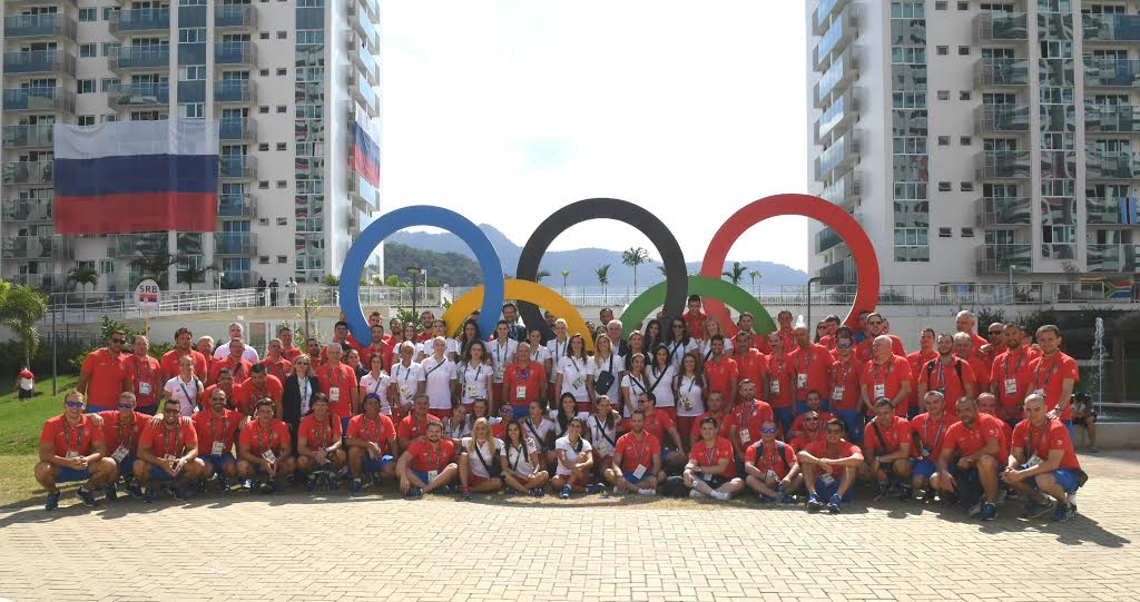 Rio: Podignuta srpska zastava