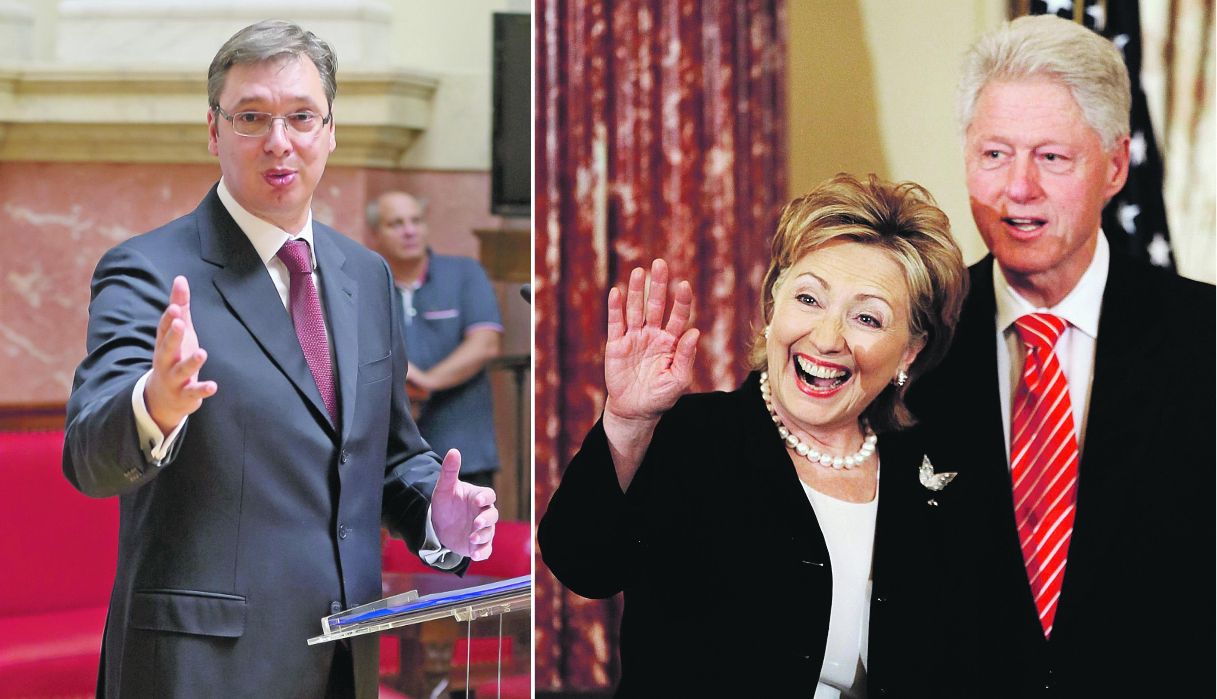 DJB: Skrivene veze premijera, SNS-a i Klintonovih