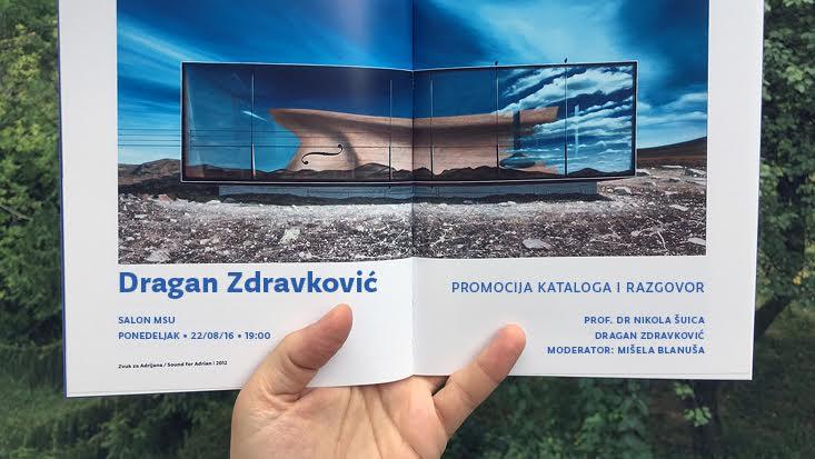 Promocija kataloga Dragana Zdravkovića 22. avgusta u Salonu MSU