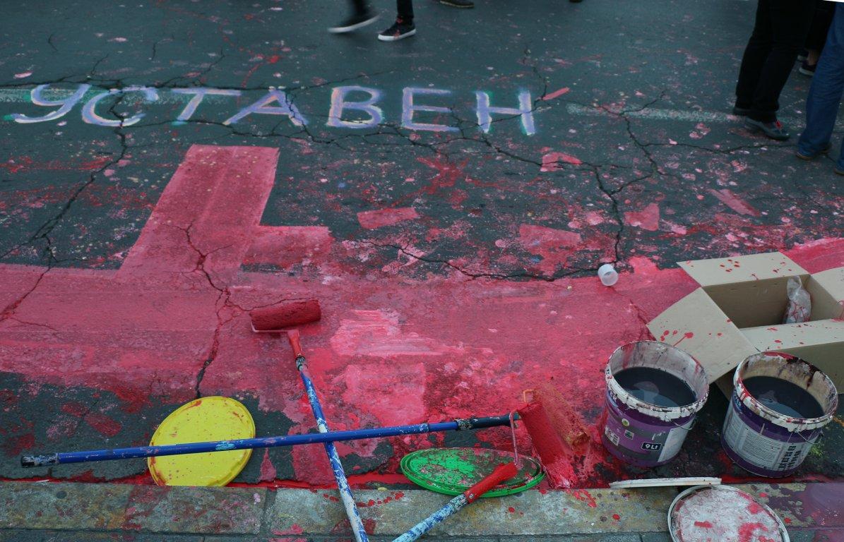 "Skopje: Ponovo se digla ""Šarena revolucija"""