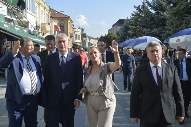Makedonija: Poseta Nikolića Makedoniji