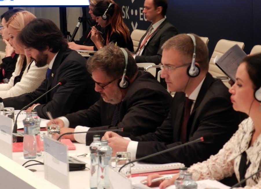 Stefanović na konferenciji u Brtislavi o rešavanju migrantske krize