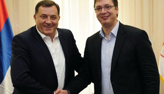 Sastali se Vučić i Dodik: o referendumu – da ili ne?