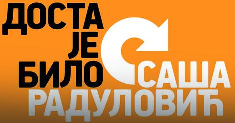 Napadnute kancelarije pokreta Dosta je bilo u Beogradu