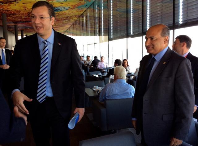 Susret Vučića sa predsednikom EBRD Čakrabartijem