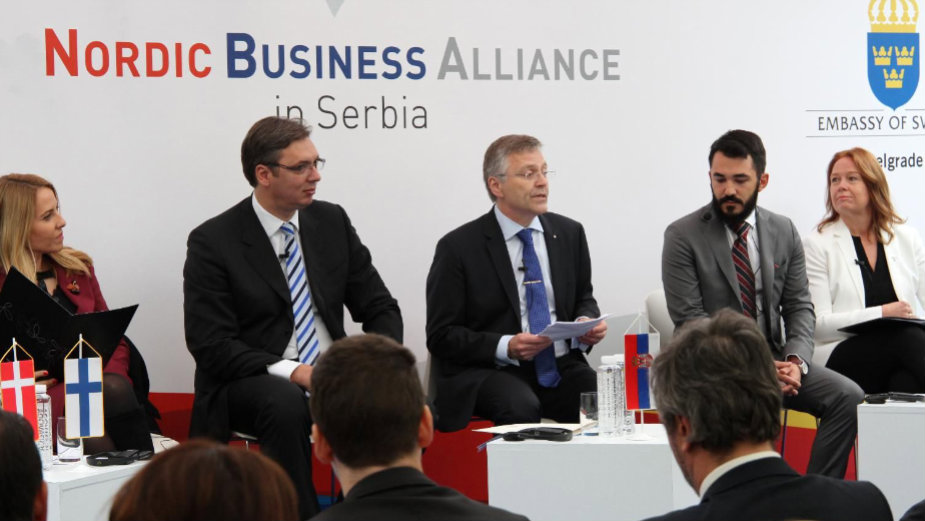 Vučić na konferenciji Nordijski inovativni biznis u Srbiji