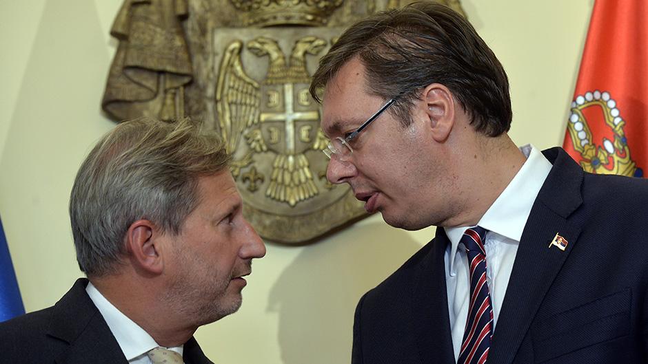 Johanes Han u Beogradu: Evropski standardi interes građana Srbije
