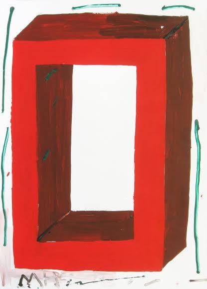 Izložba Bez izlaza, slikara Milana Nešića u Uličnoj galeriji