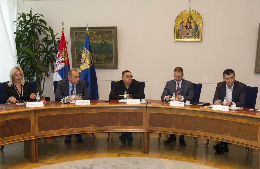 Sastanak Radne grupe za rešavanje problema migrantskih tokova