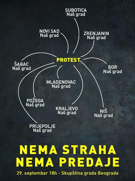 U četvrtak novi protest Inicijative Ne da(vi)mo Beograd