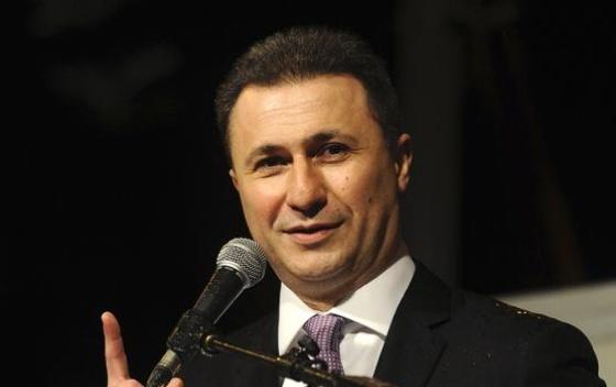 Bivši premiier Vlade Makedonije optužen zbog prisluškivanja