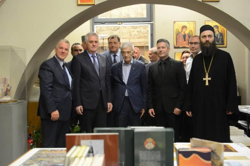 Solun: Nikolić posetio Svetogorski centar
